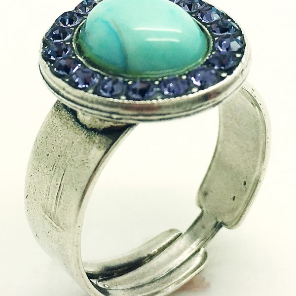 Great Turquoise&Blue ring
